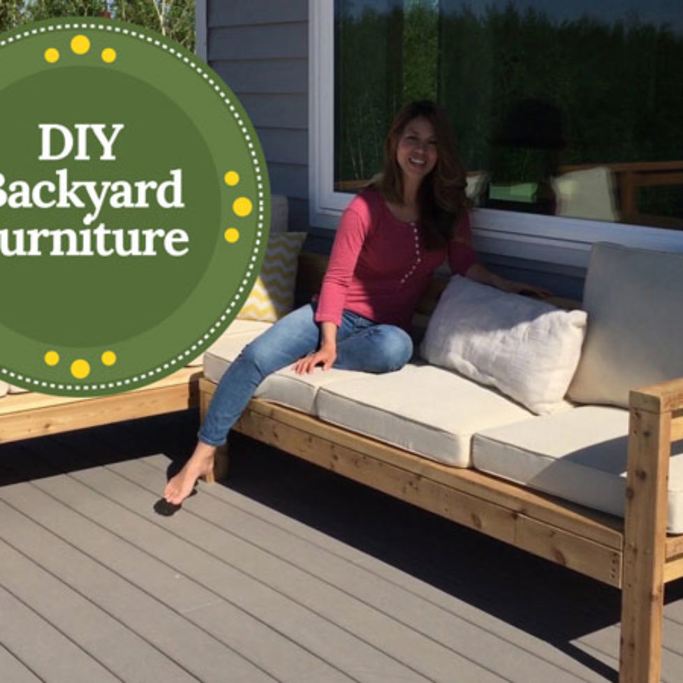 4 Amazing Furniture Pieces You Can Make Yourself For Your Backyard